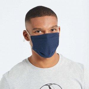 Набор из 2 защитных масок для взрослых категории 2 - черный