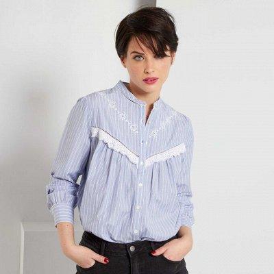 Французская одежда для детей и взрослых.3 волна распродажи — Женщины. Рубашки, блузки, футболки