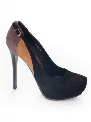 Туфли Страна производитель: Китай Размер женской обуви x: 33 Полнота обуви: Тип «F» или «Fx» Сезон: Весна/осень Тип носка: Закрытый Форма мыска/носка: Закругленный Каблук/Подошва: Каблук Высота каблук