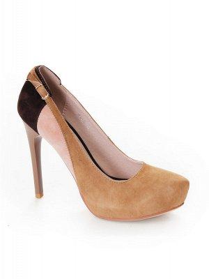 Туфли Страна производитель: Китай Размер женской обуви x: 33 Полнота обуви: Тип «F» или «Fx» Сезон: Весна/осень Тип носка: Закрытый Форма мыска/носка: Заостренный Каблук/Подошва: Каблук Высота каблука