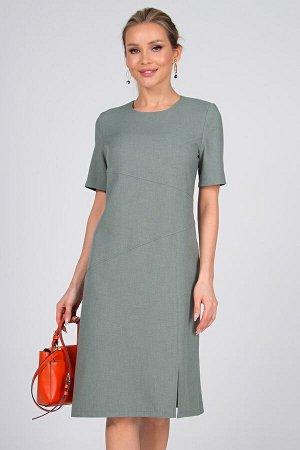 Платье Доминика №1.Цвет:шалфей