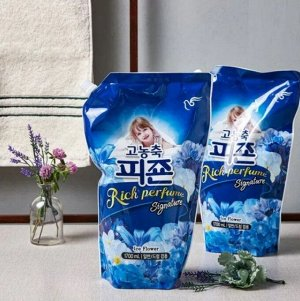 """Кондиционер для белья """"Rich Perfume SIGNATURE"""" (парфюмированный супер-концентрат с ароматом «Ледяной цветок») 1,6 л МУ / 8"""