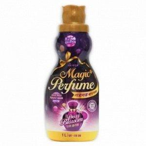 """Кондиционер-ополаскиватель для белья и одежды """"Aroma Viu Magic Perfume Softner Dear Blossom"""" с элегантным ароматом белых цветов 1 л / 12"""