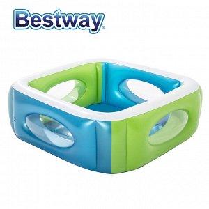 Надувной бассейн Bestway / 168 х 168 х 56 см, 565 л