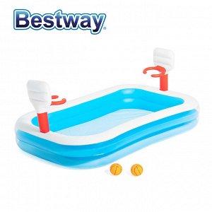 Игровой бассейн Bestway / 251 x 168 x 102 см, 636 л