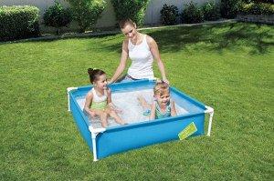 Детский каркасный бассейн Bestway / 122 х 122 х 30,5 см, 365 л