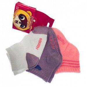 Возраст 12-24 месяца. Детские носки Socmark. Ассорти 3 шт.