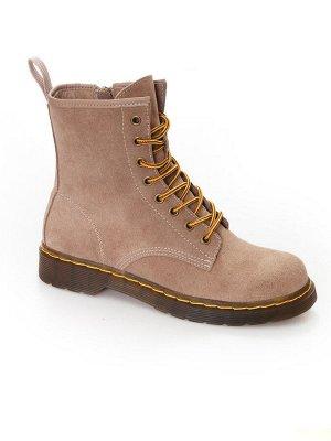 Ботинки Страна производитель: Китай Размер женской обуви x: 37 Полнота обуви: Тип «F» или «Fx» Вид обуви: Ботинки Сезон: Весна/осень Материал верха: Замша Материал подкладки: Байка Материал подошвы: Р