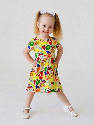 Платье Лето арбузы