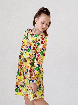 Платье Элла MAX арбузы