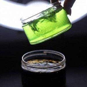 250 мл* Натуральное зеленое  мыло для тела и волос  с эфирным маслом  можжевельника