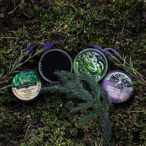 250 мл* Натуральное черное мыло для тела и волос  с эфирным маслом эвкалипта