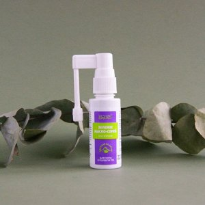 30 мл* Нативное зеленое масло-спрей для горла и полости рта