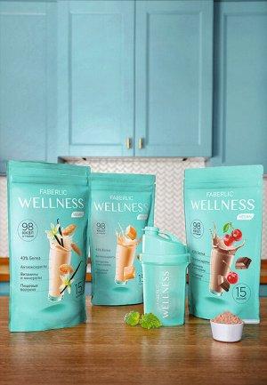 Протеиновый коктейль Wellness VEGAN. Вкус: ириска
