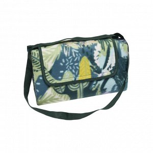 Плед-сумка с тропическим принтом