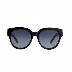Материал: поликарбонат, триацетат целлюлозы. В комплекте твёрдый футляр из полиуретана и салфетка для протирки линз из полиэстера. Размер оправы: 14,4 х 5,7 см.* Солнцезащитные очки в широкой оправе