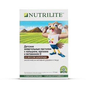 NUTRILITE™ Детские жевательные пастилки с кальцием, магнием и витамином D, 45 шт.