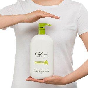 G&H REFRESH+™ Гель для душа, 1 л