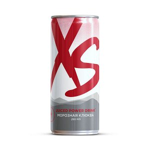 XS™ Power Drink Морозная клюква уп/12