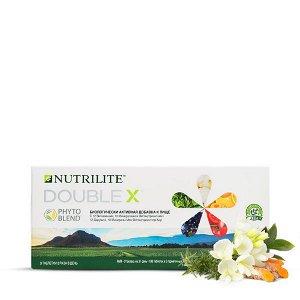 NUTRILITE™ DOUBLE X™ с витаминами, минералами и фитонутриентами (сменный блок 62 дня), 372 таб.