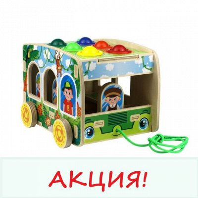 Развивающие деревянные игрушки. В июне повышение цен — Акция — Деревянные игрушки