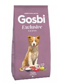 GOSBI EXCLUSIVE PUPPY MEDIUM сухой корм для щенков средних пород Курица 500+500гр