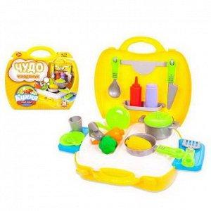 Игровой набор ABtoys Чудо-чемоданчик Кухня 21 предмет2123