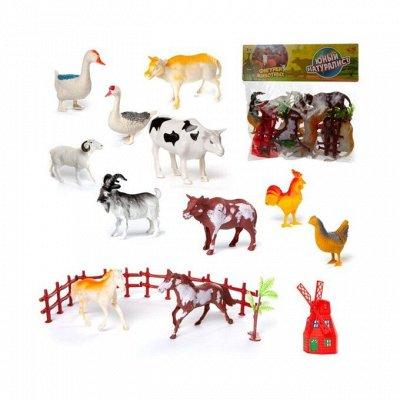 Игрушки, товары для творчества, настольные игры — Фигурки животных, насекомых, динозавров — Фигурки