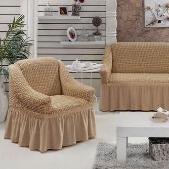 Мягкие Подушки, Теплые Одеяла, Наматрасники, Чехлы на мебель — Наборы чехлов для мебели — Чехлы для диванов