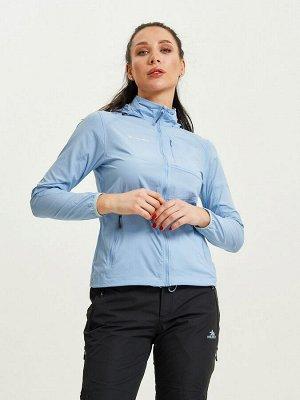 Ветровка спортивная Valianly женская голубого цвета