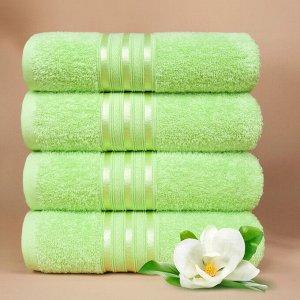 Набор полотенец для лица Harmonika цвет салатовый (50х80 см - 5 шт)