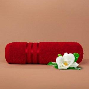 Набор полотенец для лица Harmonika цвет красный (50х80 см - 5 шт)