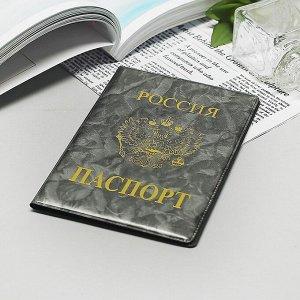 Обложка для паспорта «Россия», цвет серый 1256658