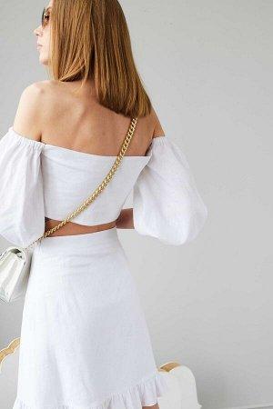 Блузка Рост: 170 см. Состав ткани: 55% лен 45% вискоза Блузка