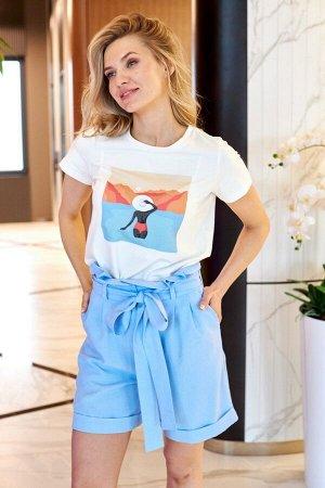 Женский комплект с шортами
