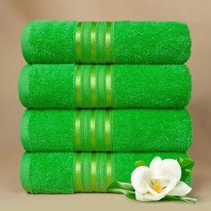 Набор полотенец для лица Harmonika цвет зеленый (50х80 см - 5 шт)