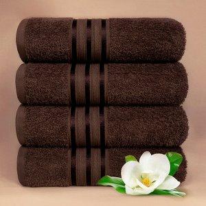 Набор полотенец для лица Harmonika цвет кофейный (50х80 см - 5 шт)