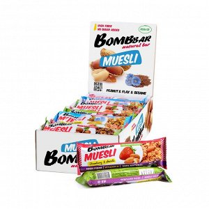 Мюсли-батончики Bombbar, 45 г