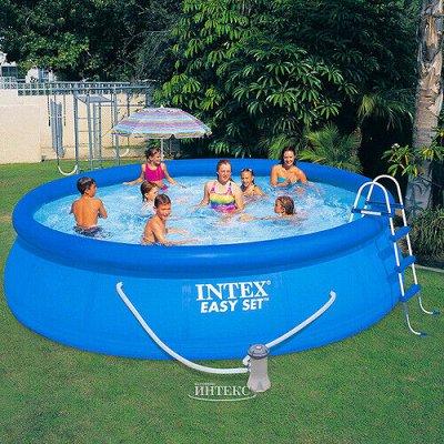 INTEX — Надувная продукция. К лету готов — Надувные бассейны Easy Set — Туризм