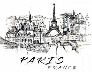 Футболка Париж (оверсайз)