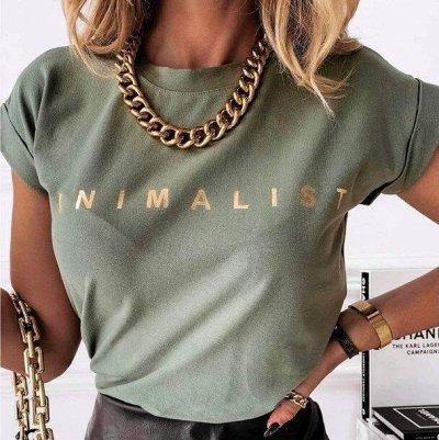 Самая стильная 🤩 женская одежда этого лета — Стильные футболки с принтами и надписями
