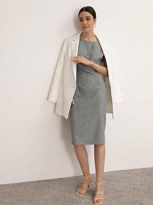 Приталенное платье PL1016/nutel
