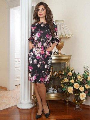 """Арт. 7272В Платье """"Цветы"""" Salvi"""
