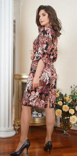 """Арт. 7272А Платье """"Цветы"""" Salvi"""
