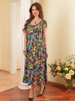 Арт. 7311А платье мелкий цветок Salvi