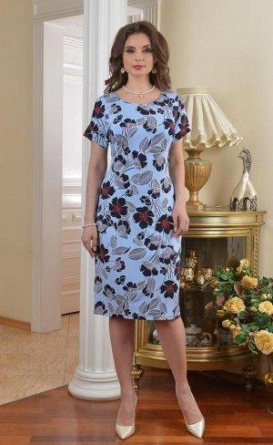 Арт. 7264 платье Цветы Salvi
