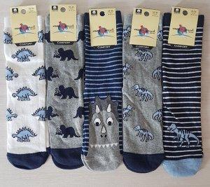 Детские носки с динозаврами