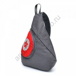 Рюкзак Д32хШ7хВ42 Рюкзак небольшого размера треугольной формы на одной лямке, имеет один основной отдел на молнии, накладной карман на передней стенке для быстрого доступа к мелким вещам (ключи, кошел