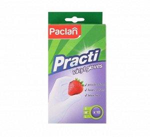 PACLAN Перчатки виниловые размер М, 5 пар 988338