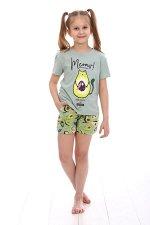 Пижама детская, фисташковый